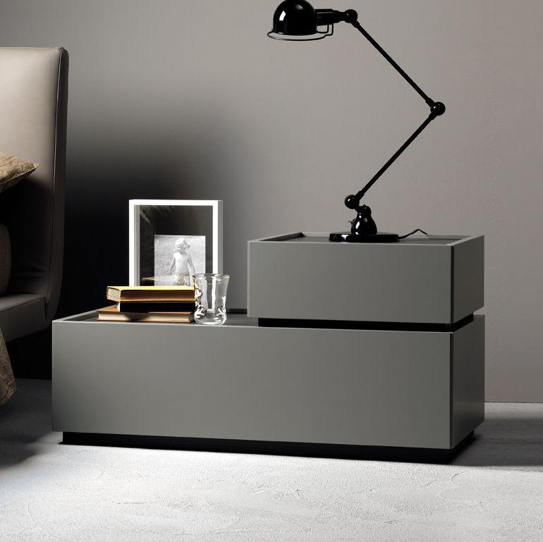 Best Como L Shape Bedroom Night Stands Modern Bedside Table 640 x 480