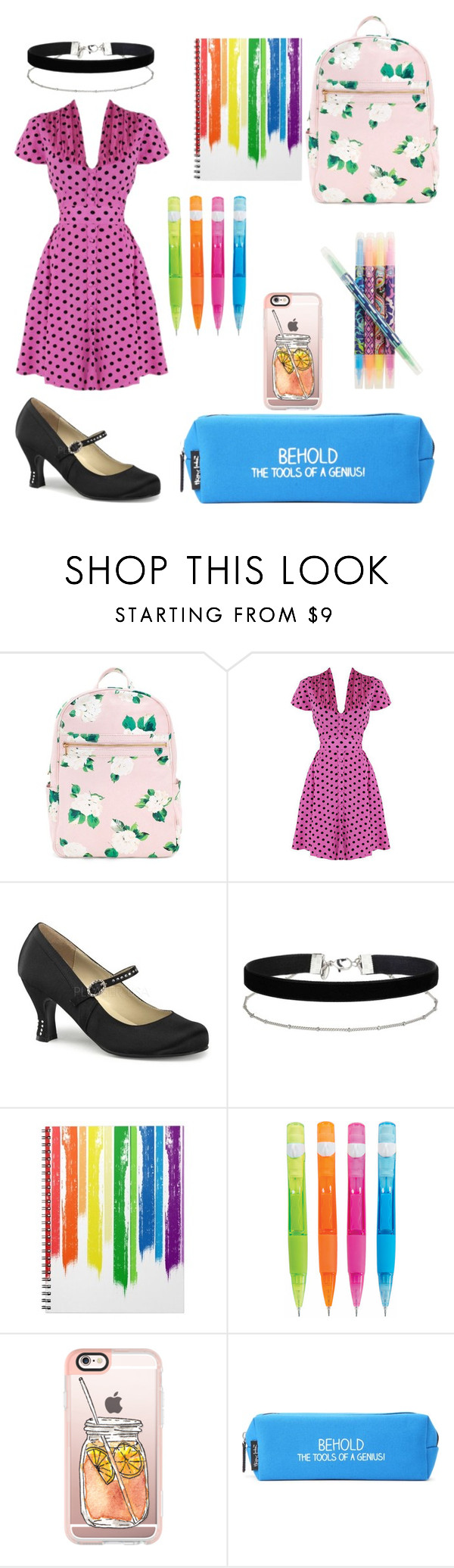 """""""Untitled #52"""" by devonsmith-1 ❤ liked on Polyvore featuring Miss Selfridge, Casetify, Happy Jackson, Vera Bradley, backpacks, contestentry and PVStyleInsiderContest"""