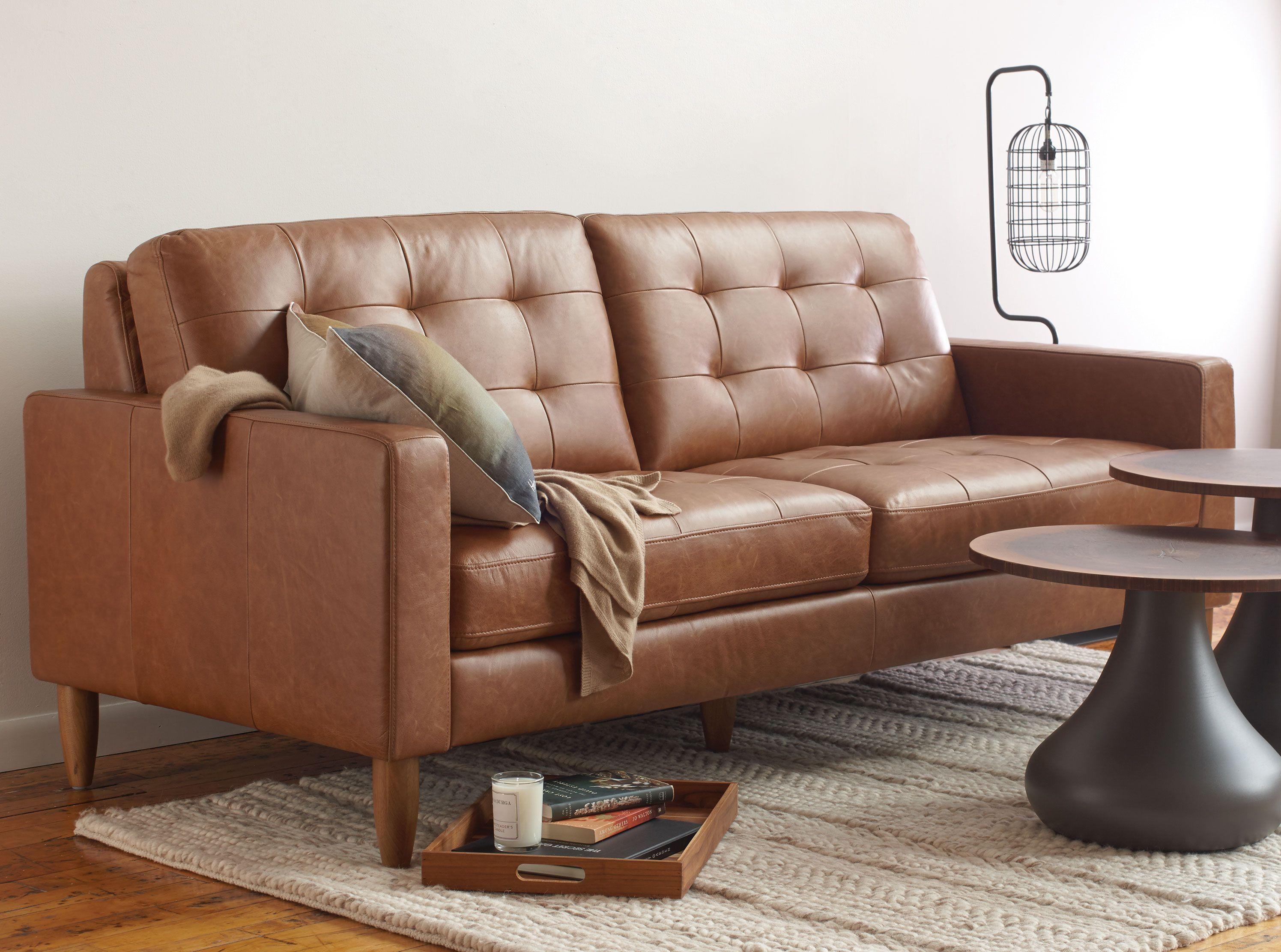Sydney Sofa In Vintage Leather Kasala Leather Sofa Bed