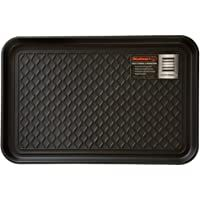 Stalwart 75-ST6014 All Weather Boot Tray-Water Resistant Plastic Utility Shoe Mat for Indoor and Outdoor Use in All Seasons (Black) Medium          Disclaimer: I am an Amazon associate and I will have a commission if you buy this product from the amazon website without any additional cost on you. #ad #affiliate #outdoor #doormats #homedecor