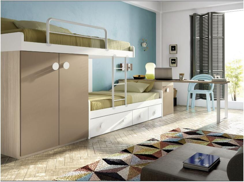 Dormitorio juvenil camas literas bunk beds furniture for Muebles decorhaus malaga