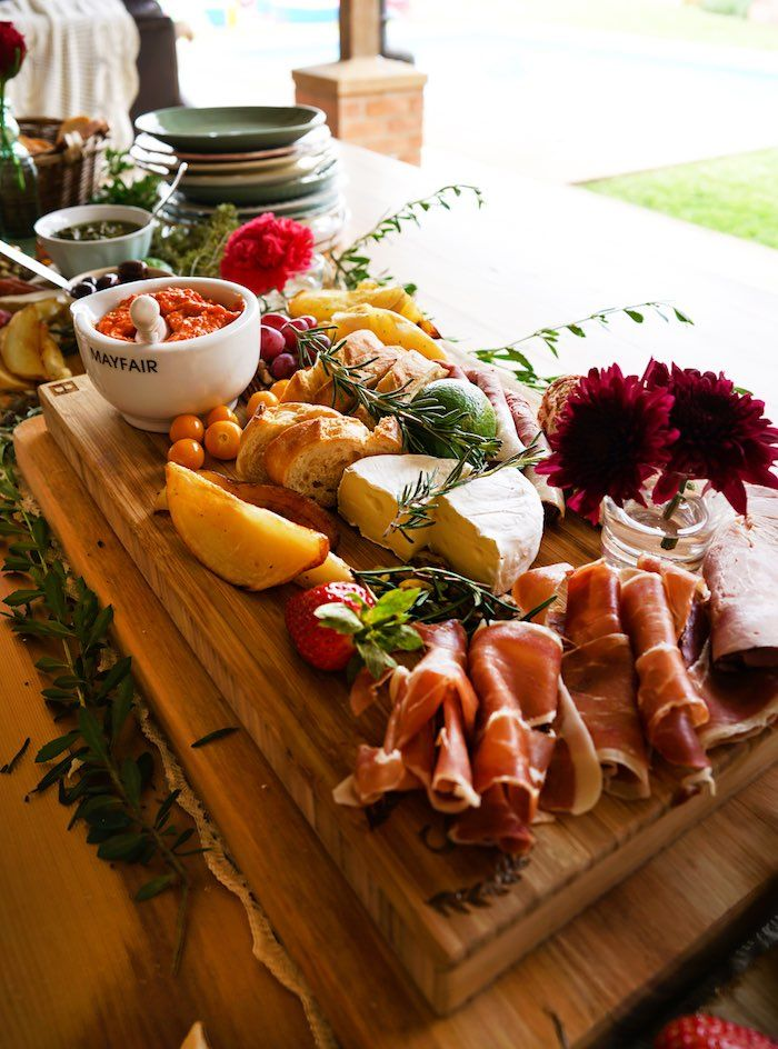 Food Table From A Tribal First Birthday Party Via Karas Ideas