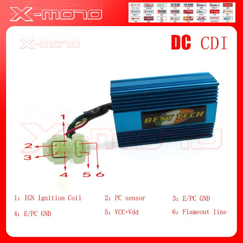 Dc Fired High Performance Alloy Racing Cdi Box For Gy6 50cc 150cc 139qmb 152qmi 157qmj Scooter Moped Atv Go Kart No Rev Limit Go Kart 150cc 50cc
