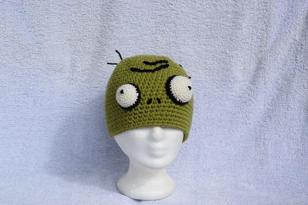 Mütze Zombie   Lustige Mütze   Pinterest   Mütze, Brownies und Pflanzen
