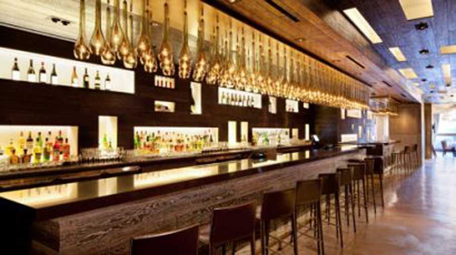 Modern Italian Hospitality Restaurant Interior Design Scarpetta Las Vegas  Bar