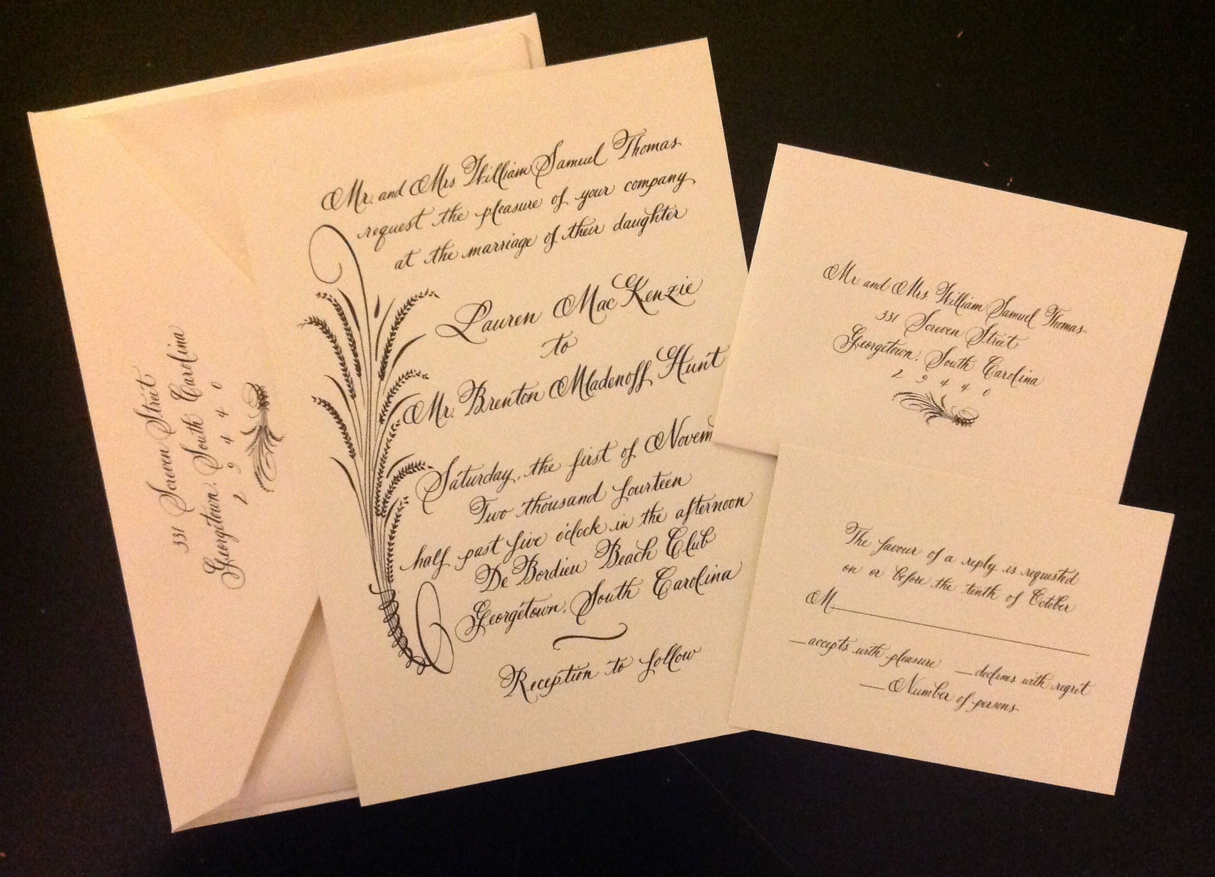 Pin by Traci Green Designs on My Calligraphy Portfolio