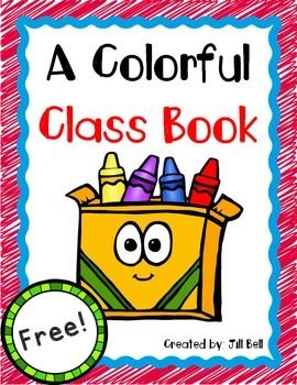 A Colorful Class Book | Back to School