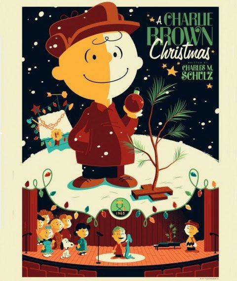 Brownxmas1 Christmas Poster Charlie Brown Christmas Charlie Brown