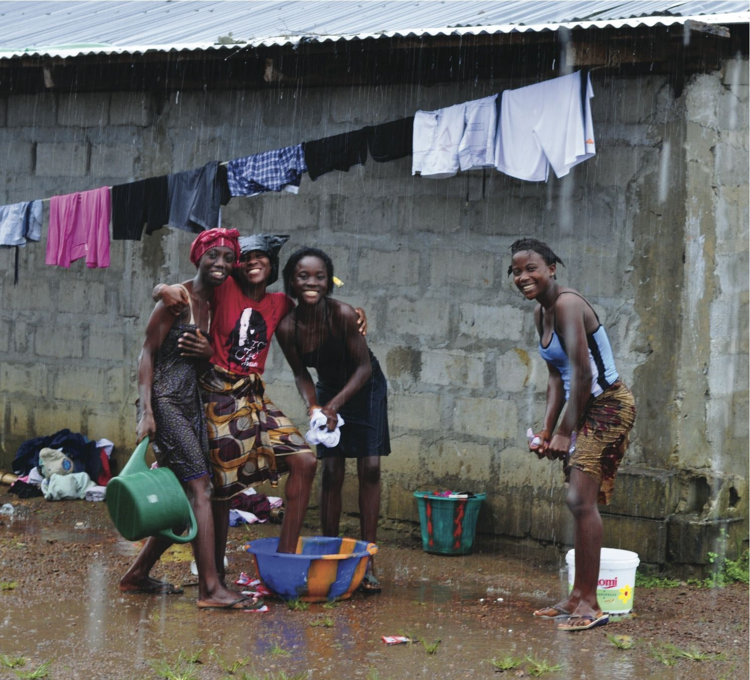 """Keeperfinder Com Clothes: """"Young Ladies At The My Brother's Keeper Orphanage Outside"""