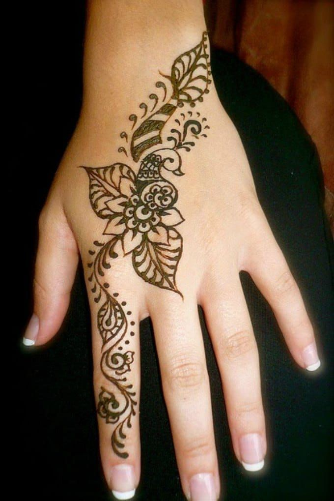 Mehndi Designs For Hands Red : Elegant mehndi designs henna pinterest