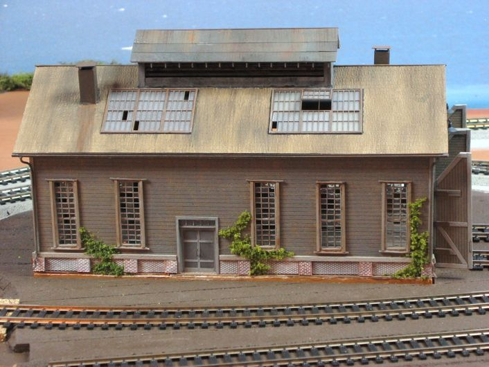 MODEL RAILROAD ENGINE HOUSE IMAGES | Railroad Line Forums ... on railroad depot house plans, draw my own house plans, railroad section house plans, railroad car house plans, railroad steam engine side rods,