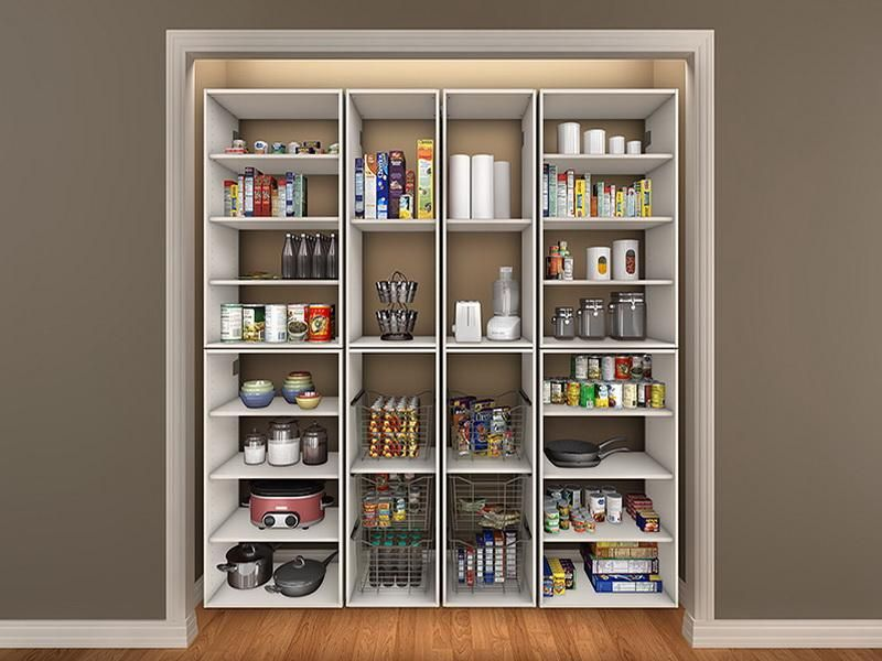 kitchen closet pantry ideas - Closet Pantry Design Ideas