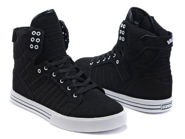88cd3948da Supra Skytop Mens Shoes Midnight Black White | Ninja Punk and Ninja ...