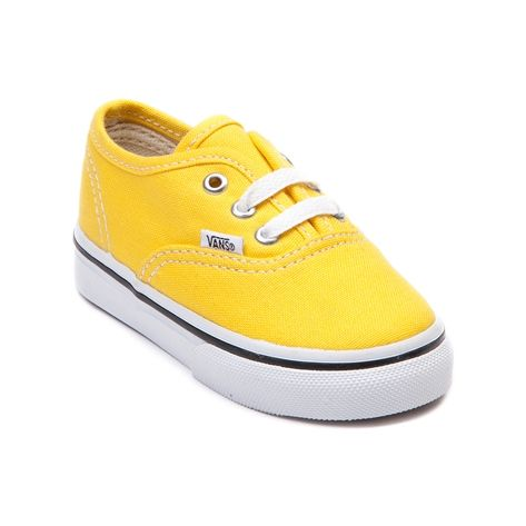 7918525212 Shop for Toddler Vans Authentic Skate Shoe in Yellow at Journeys Kidz. Shop  today for the hottest brands in mens shoes and womens shoes at  JourneysKidz.com.