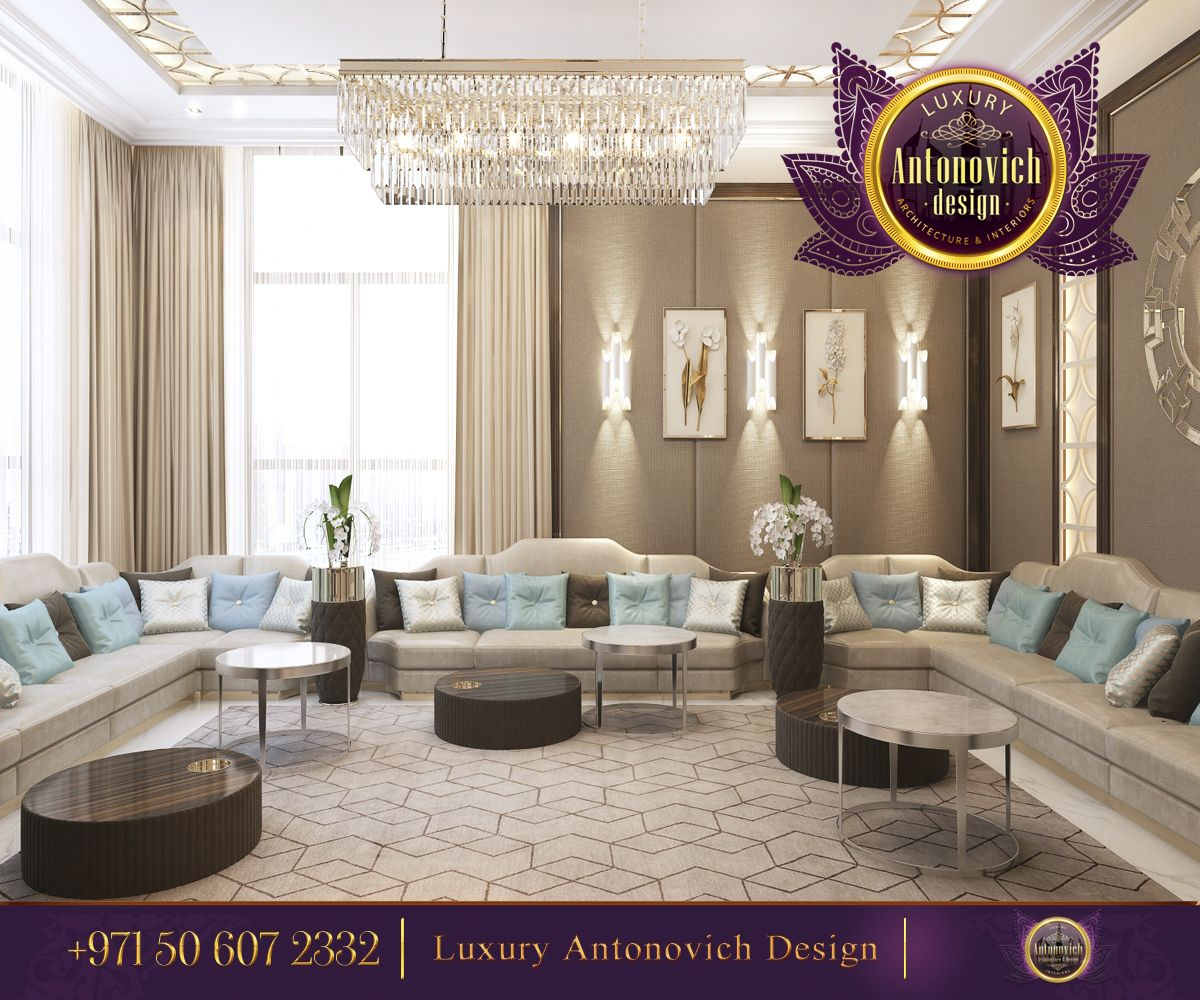 Beautiful dressing room design in dubai by luxury antonovich design - Contemporary Majlis Interior Design From Luxury Antonovich Design Let S Start This Day With A Beautiful