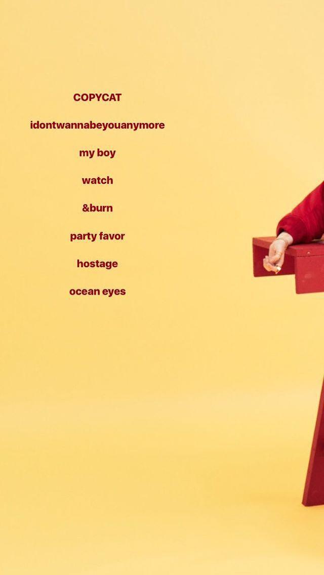 33 Best Eyelish Images On Pinterest Billie Eilish Iphone Backgrounds And Lyrics Billie Eilish Billie Lyrics