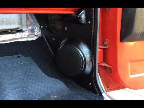 Part 1 Chevy C10 Kick Panel Speakers Install 73 87 Squarebody Speakers Youtube Discount Interior Doors Buy Interior Doors Interior Design School
