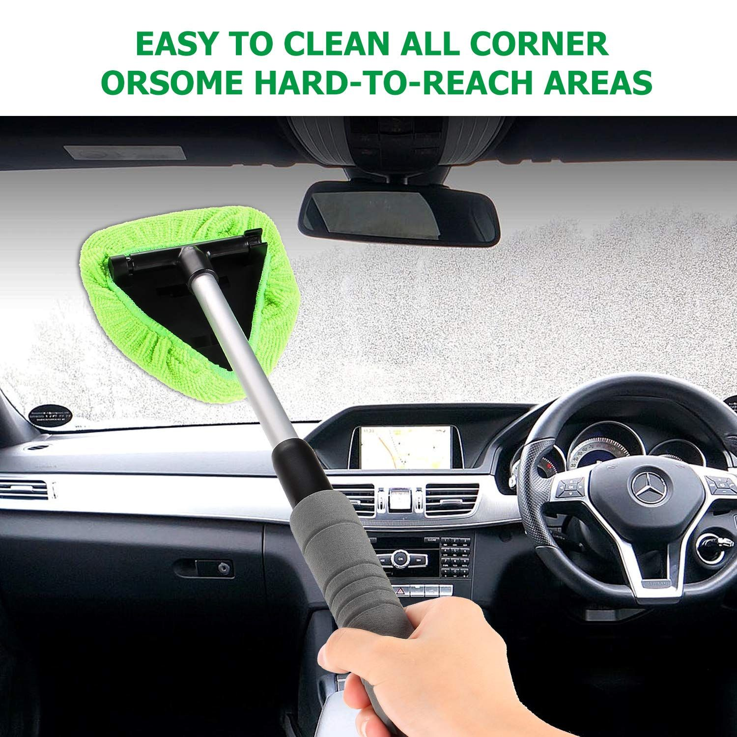 XINDELL Windshield Cleaner Window Windshield Cleaning Tool