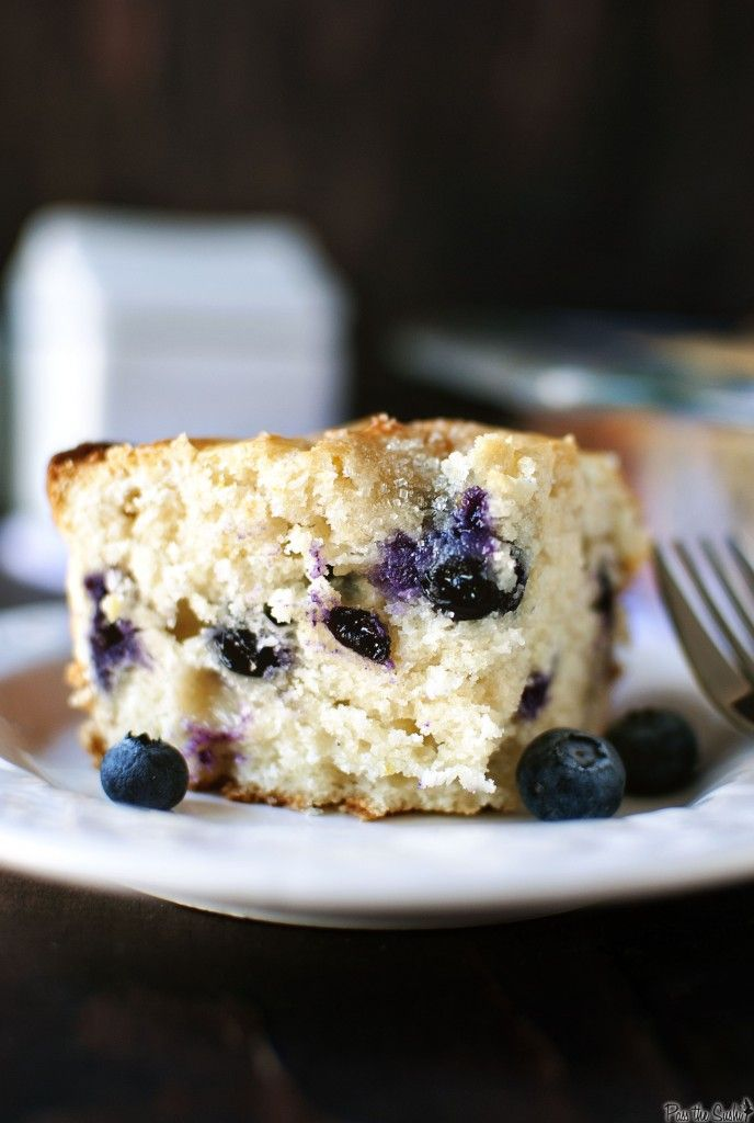 Blueberry Buttermilk Breakfast Cake - Pass The Sushi