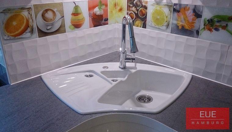 Keramikeckspüle Arena Eck - spülbecken küche keramik