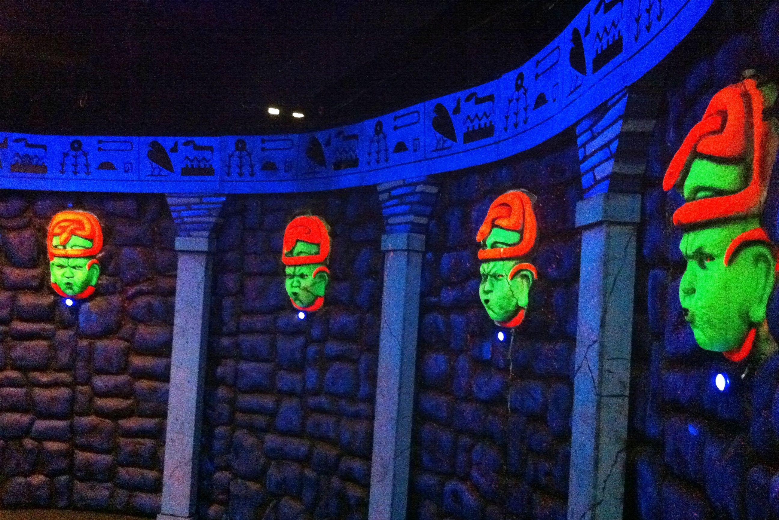Tomb Rider 3D, San Antonio, Texas Ancient tomb, Egyptian