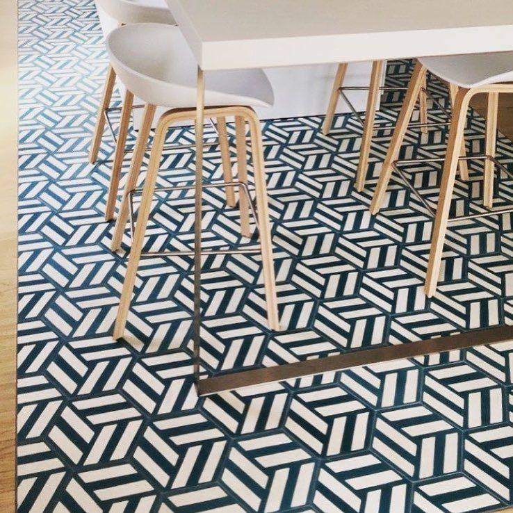 Zia Tile Los Angeles California. 76 Likes 4 Comments Popham Design Norway Showroom Pophamdesignnorway On Instagram Hex Knot In French Kitchen Hand Cement Tile Hall Tiles Style Tile