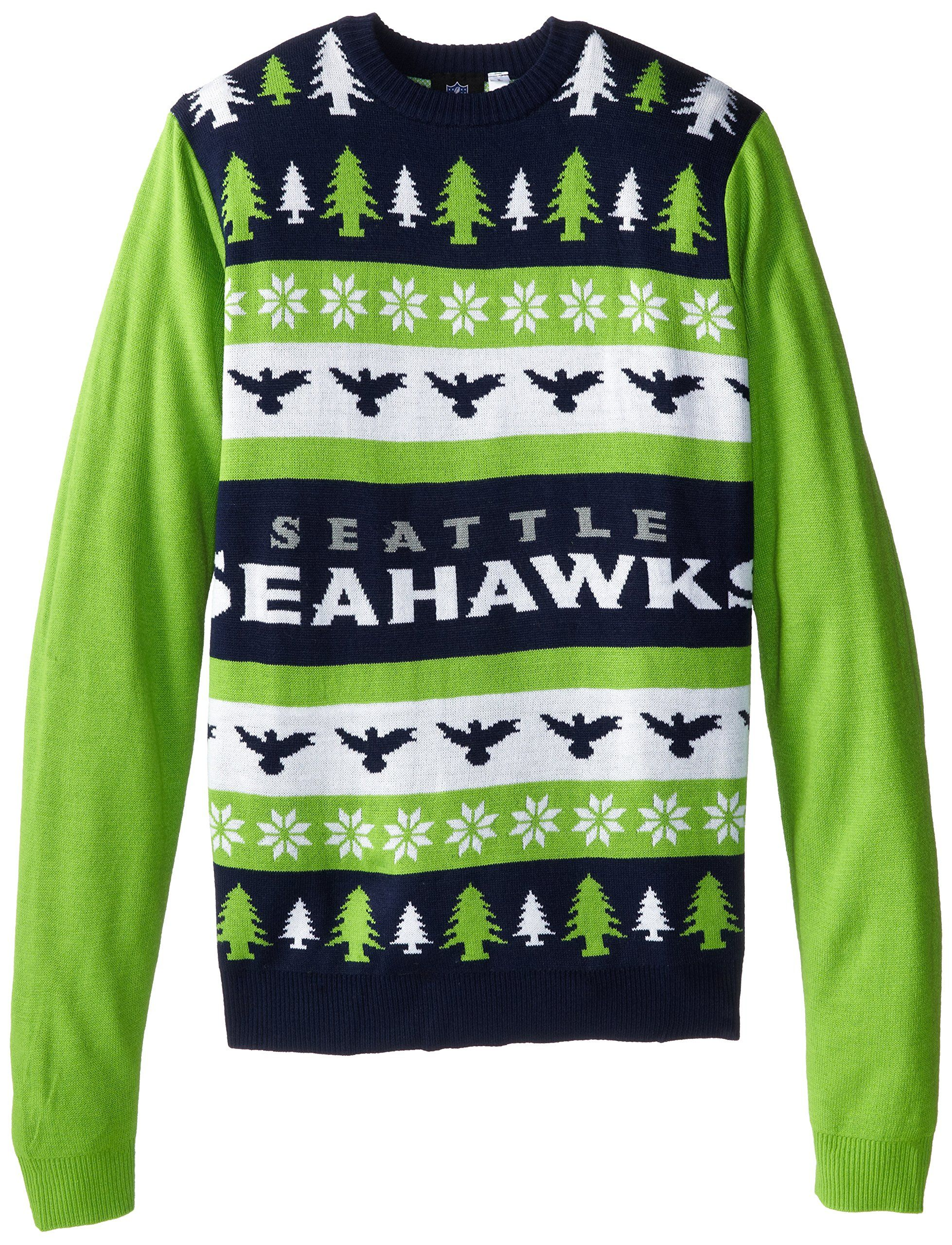 new product b9b59 16714 Amazon.com : NFL One Too Many Ugly Sweater : Sports ...