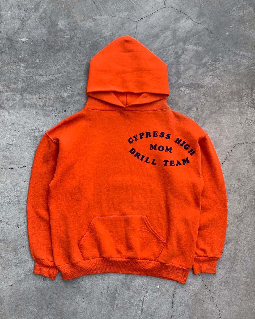 Unsound Rags On Instagram Russell Cypress High Mom Drill Team Hoodie 1990s Team Hoodies Hoodies Sweatshirts
