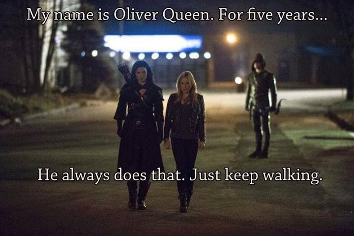 The Arrow funny meme. I laughed!!! XD