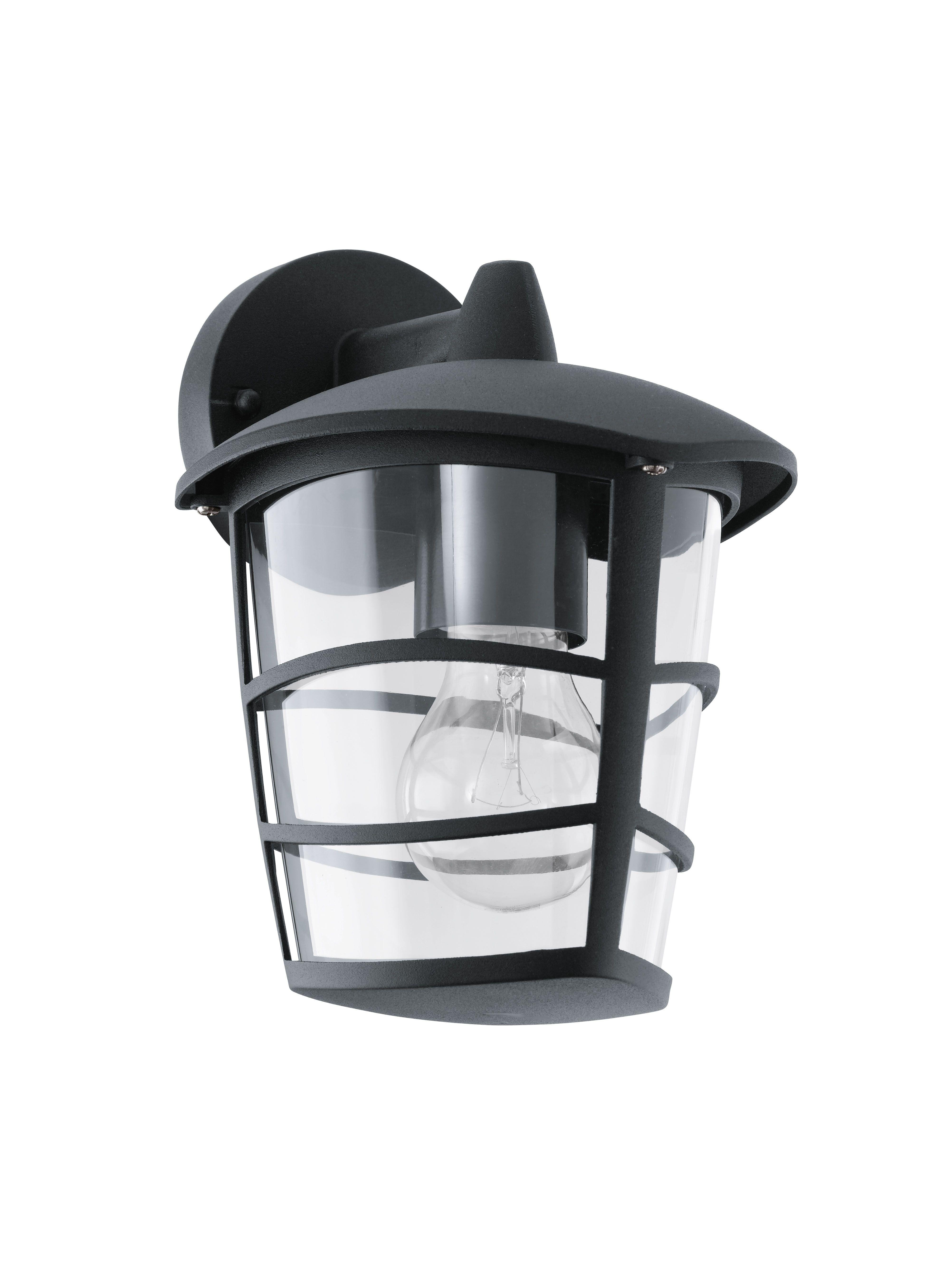 E27 aluminium Eglo 93098/Lanterne noir