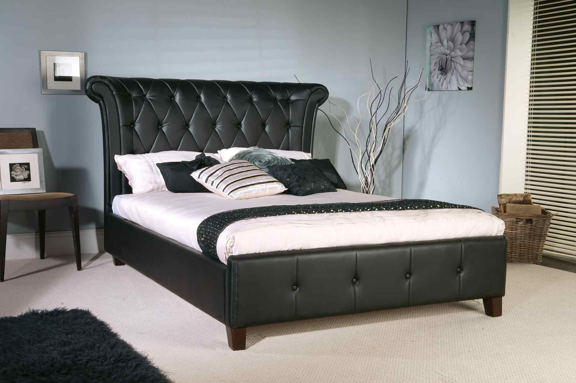 Epsilon Black Bed | Bedroom Furniture ideas. | Pinterest