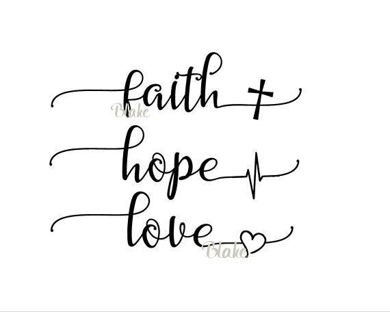 Download Faith Hope Love svg Religious svg faith svg Christian svg ...