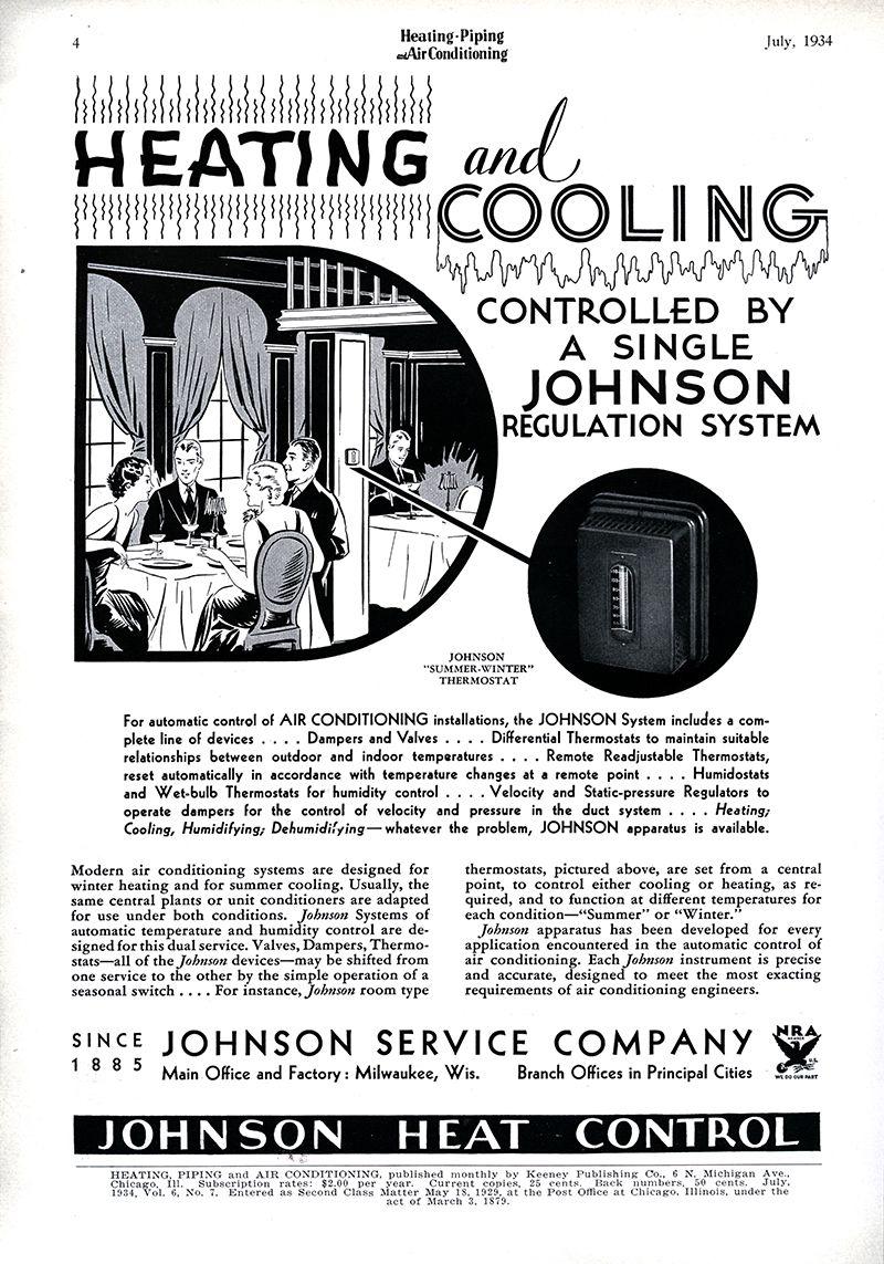 GALLERY Vintage HVAC Advertisements, 1934 Hvac, Heating