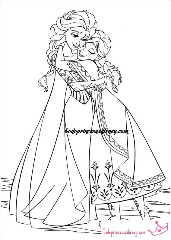 Desenhos Para Colorir Jogos De Pintar Do Frozen Desenho Frozen
