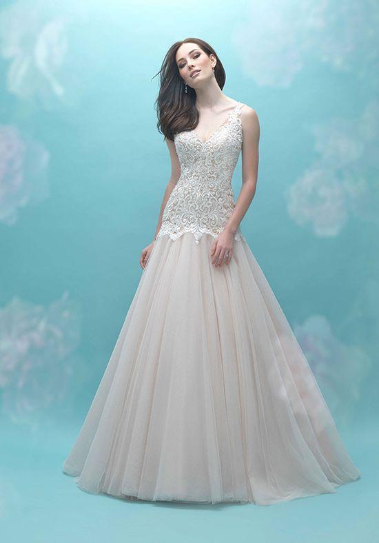92412463b5054 Allure Bridals 9461 A-Line Wedding Dress