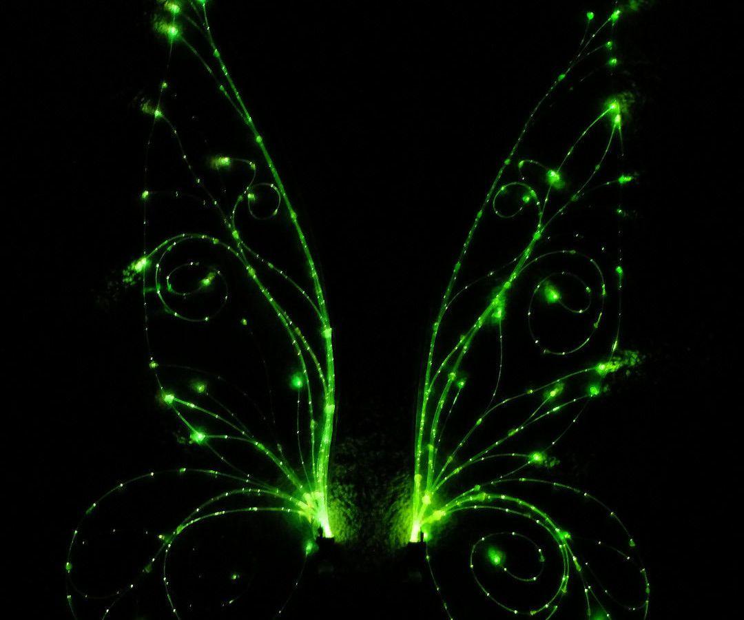 Made With Magic Fiber Optic Wings Tinkerbell Wings Diy Fairy Wings Diy Wings