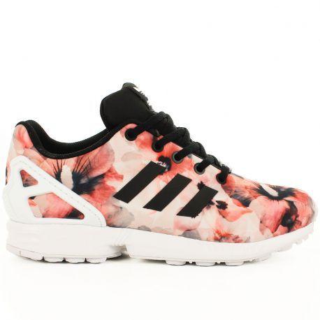 adidas zx flux motif rose