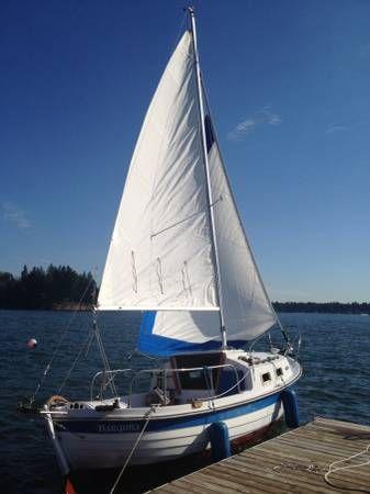 1980 Skipper 20 Sailboat Sailboat Sailing Sailing Ships