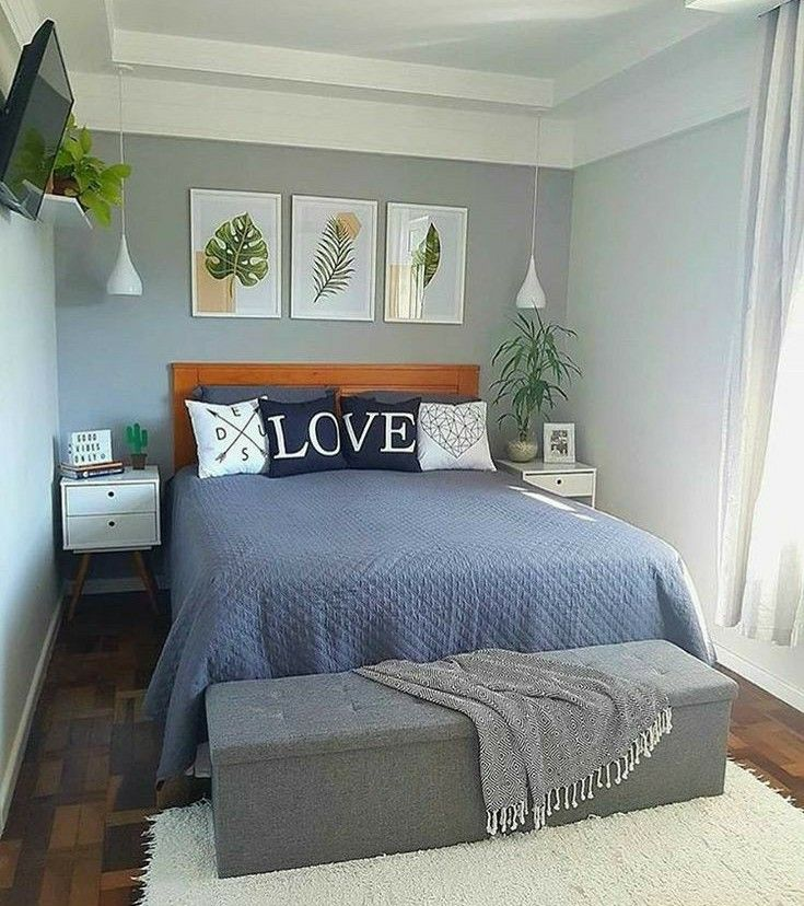 25 Small Bedroom Ideas That Are Look Stylishly Space Saving: Pin By Ashley Rojas On GOALS