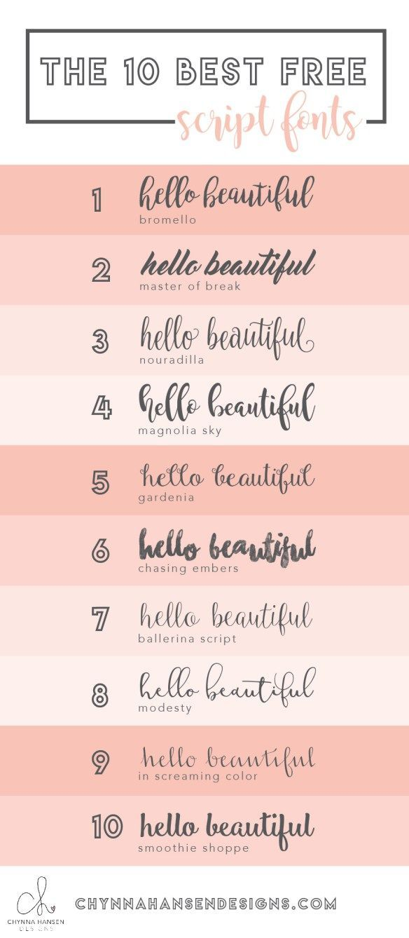 The most amazing script fonts...and they are all FREE!!! | PaPeR ...