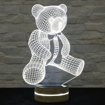 Shop Teddy Bear Nursery Decor On Wanelo Iluminacao Led Led Faca Voce Mesmo