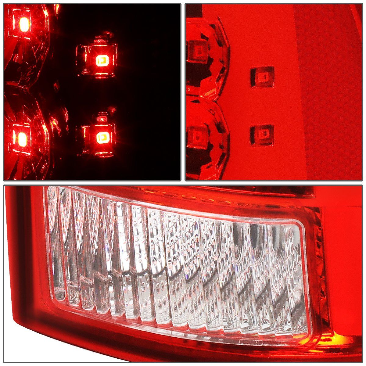 05 15 Toyota Tacoma Led Rear Brake Tail Lights Red Housing In 2021 Tail Light Toyota Tacoma Lights