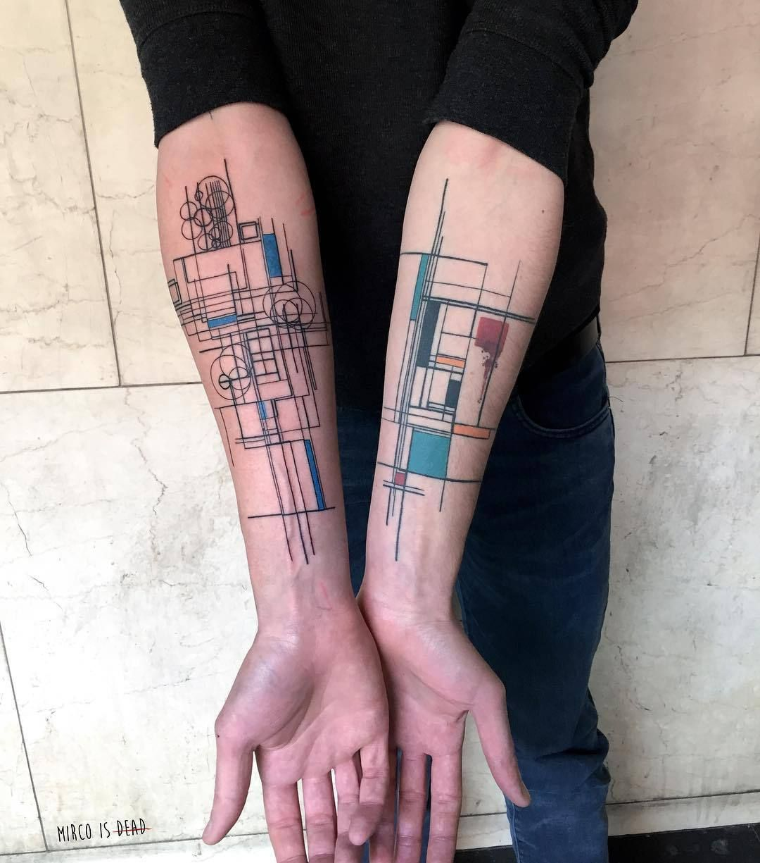 Gallery Of 118 Impressive Architecture Tattoo Designs 51 Tattoos Electronic Circuit Geek
