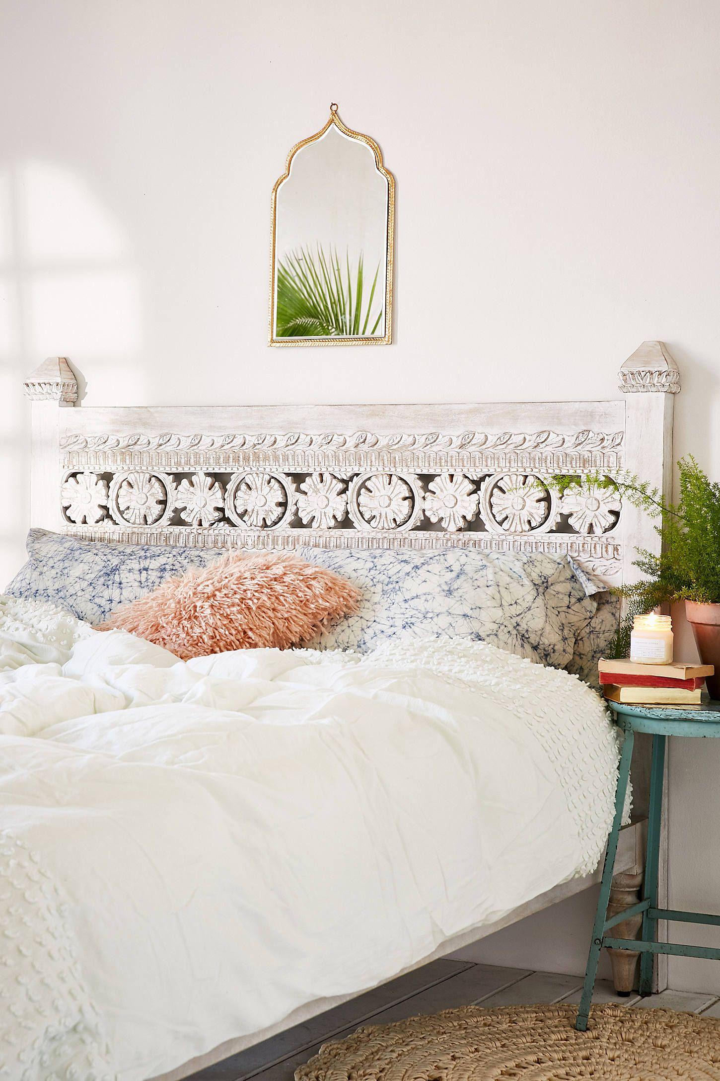 Pranati Carved Headboard Bedroom Design Home Bedroom Home Decor