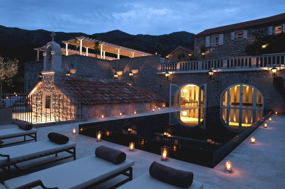 Luxury Aman Sveti Stefan Resort Monte Http Www Adelto