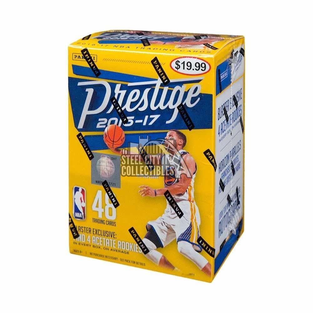 201617 panini prestige basketball 8ct blaster box
