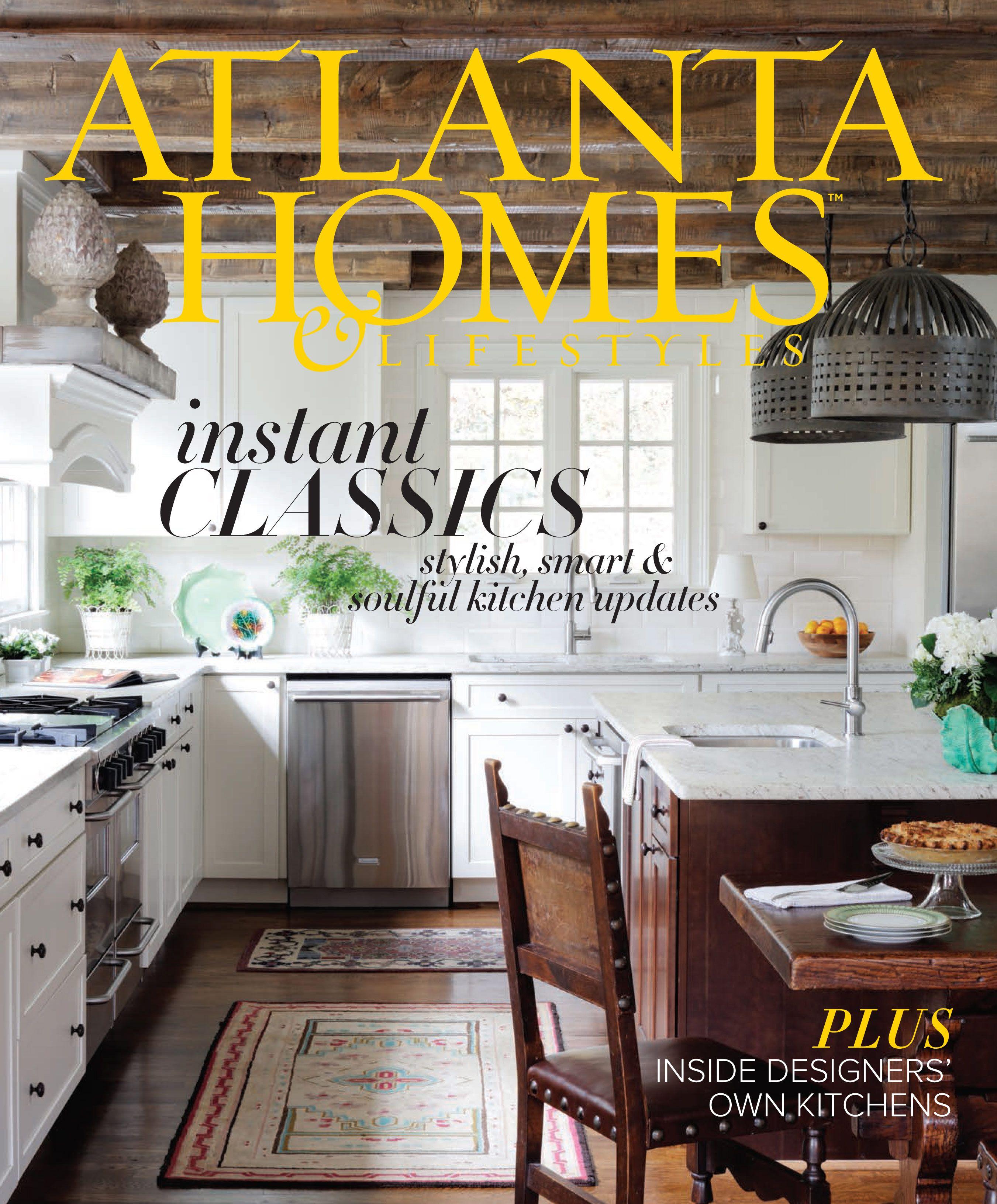 Modern Interior Design Magazine: Atlanta Homes, Updated Kitchen, Interior