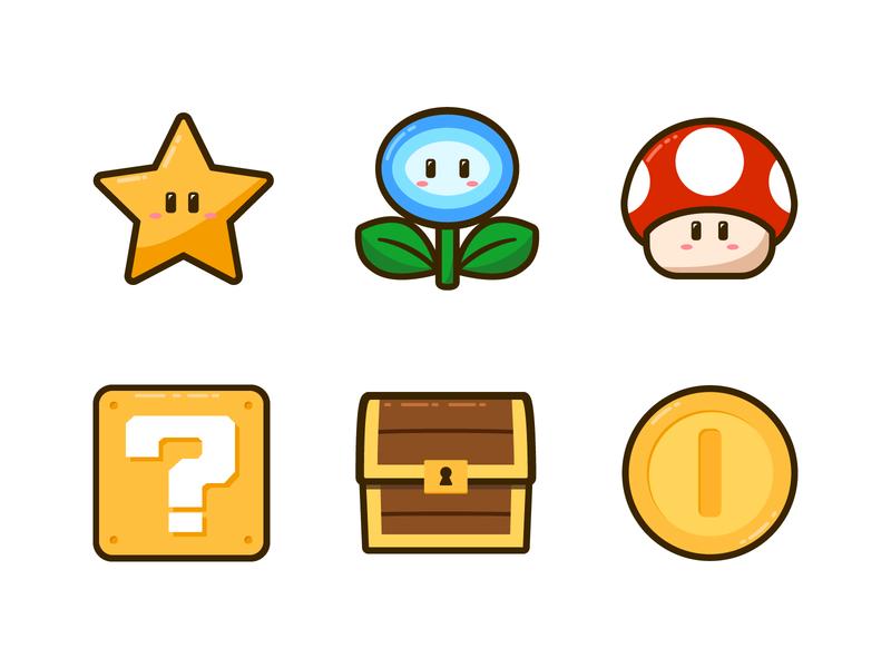 Image Result For Flower Mario Vector Desenhos Para Tatuagem Parque Infantil Super Mario