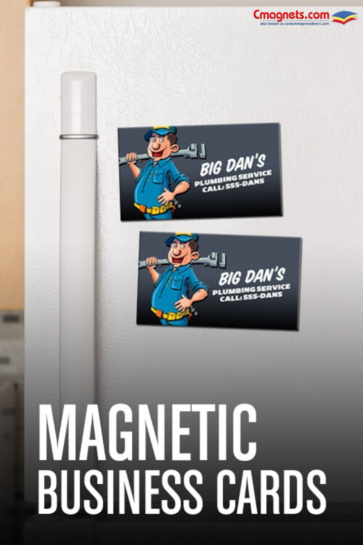 Stick With Your Business Businesscardmagnets Freeshipping Corporateessentials Magnetic Business Cards Business Cards Business