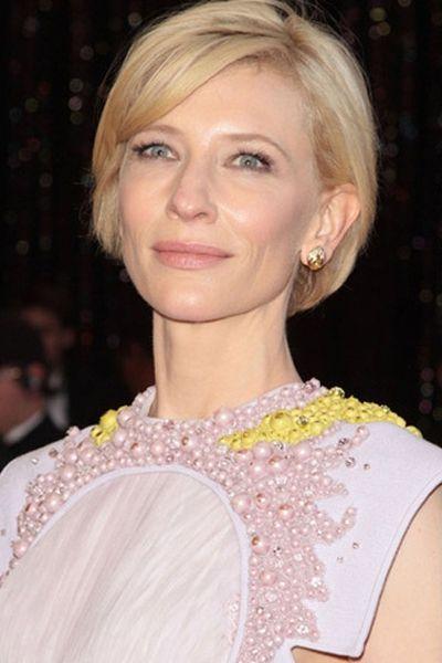 Cate Blanchett Short Bob Classic Hairstyle Hair Pinterest